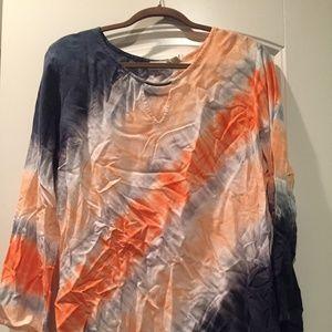 CATO multi color blouse XL